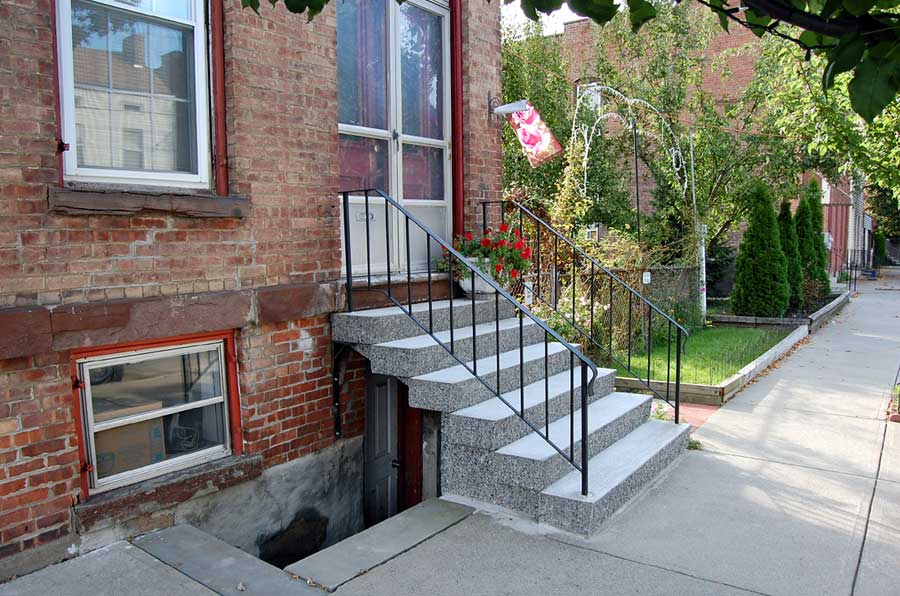 installed steps in Troy