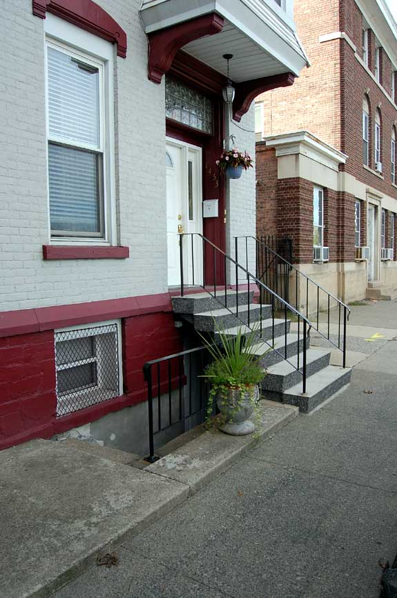installed steps in Watervliet